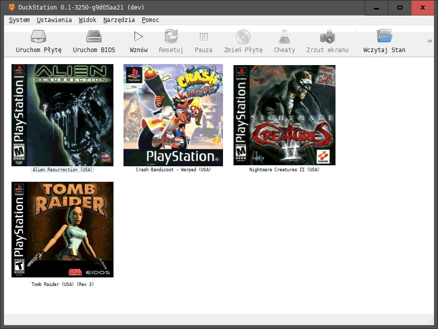 2021 02 23 11h13 58 DuckStation   doskonała alternatywa dla emulatora ePSXe
