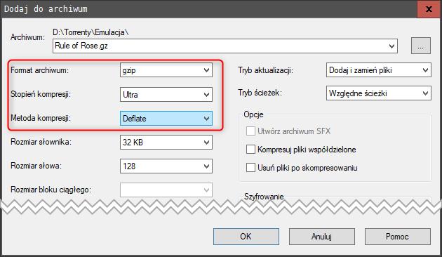 Bez nazwy 1 2 Kompresujemy obrazy płyt dla emulatora PCSX2