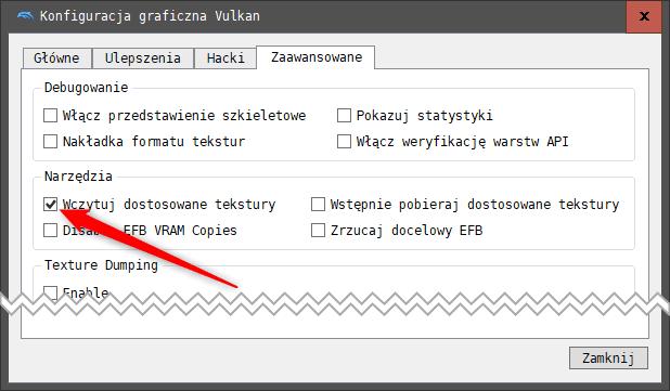 Bez nazwy 1 1 Jak używać zmodyfikowanych tekstur w emulatorze Dolphin.