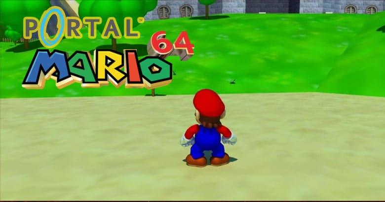 Blog  2 Portal Mario 64
