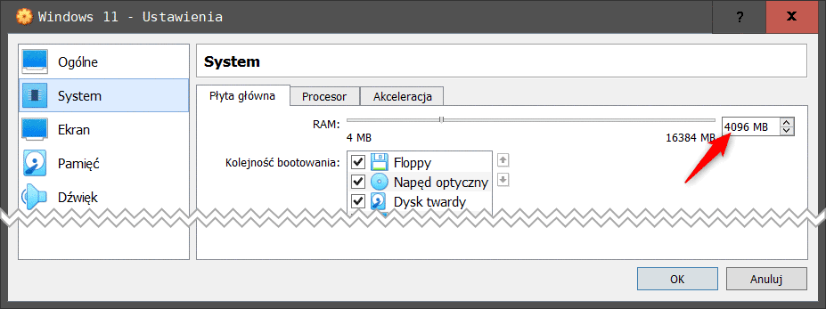 Bez nazwy 1 2 Instalujemy Windows 11 na Virtualbox