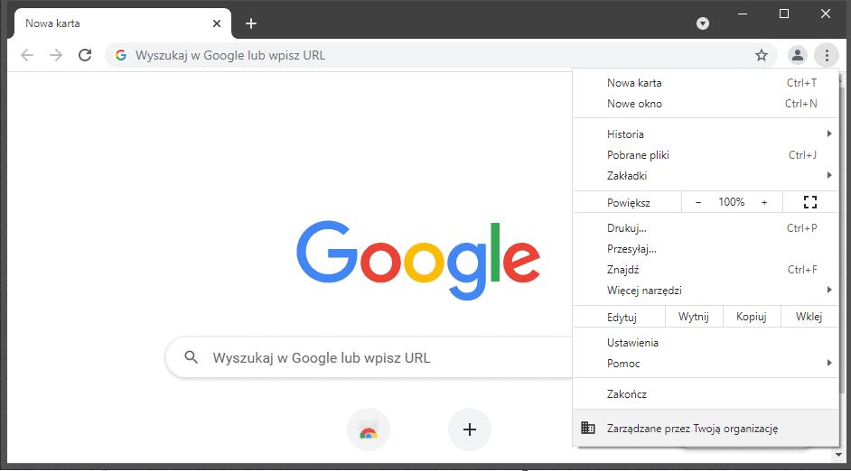 Bez nazwy 2 Jak wyłączyć tryb incognito w Google Chrome