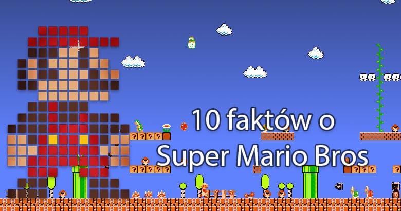 Blog  — Odzyskano 10 faktów o: Super Mario Bros
