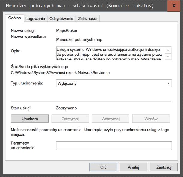 maps Pięć usług w systemie Windows 10, które możemy śmiało dezaktywować